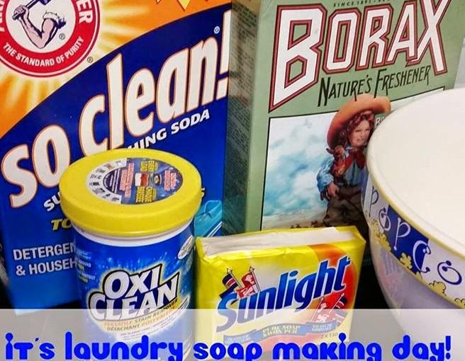 DIY Laundry Soap: Powder