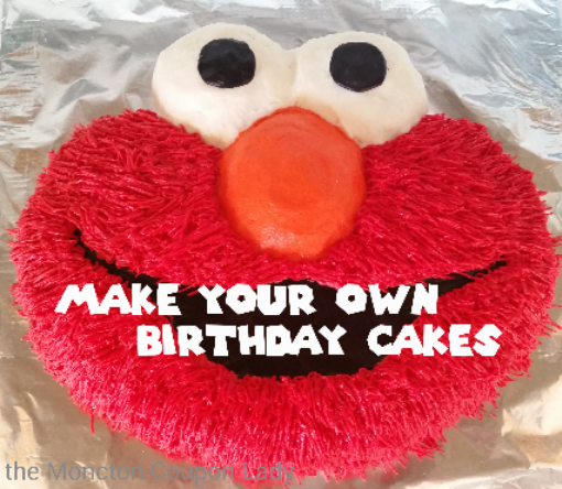 Frugal Fun Make Your Own Birthday Cakes