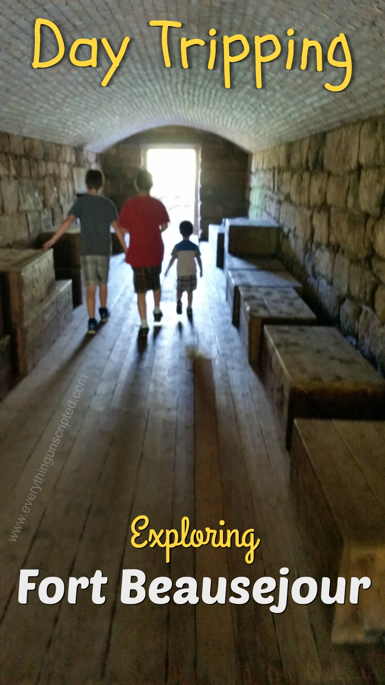 Day Tripping – Fort Beausejour