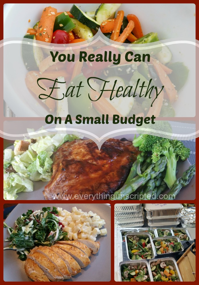 You Really Can Eat Healthy On A Small Budget