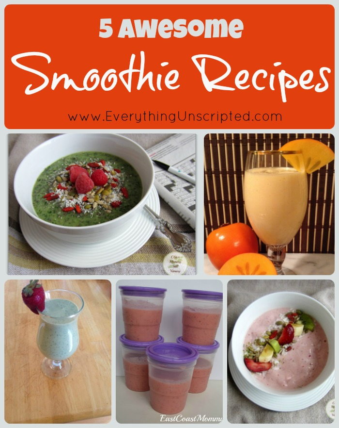 5 Awesome Smoothie Recipes