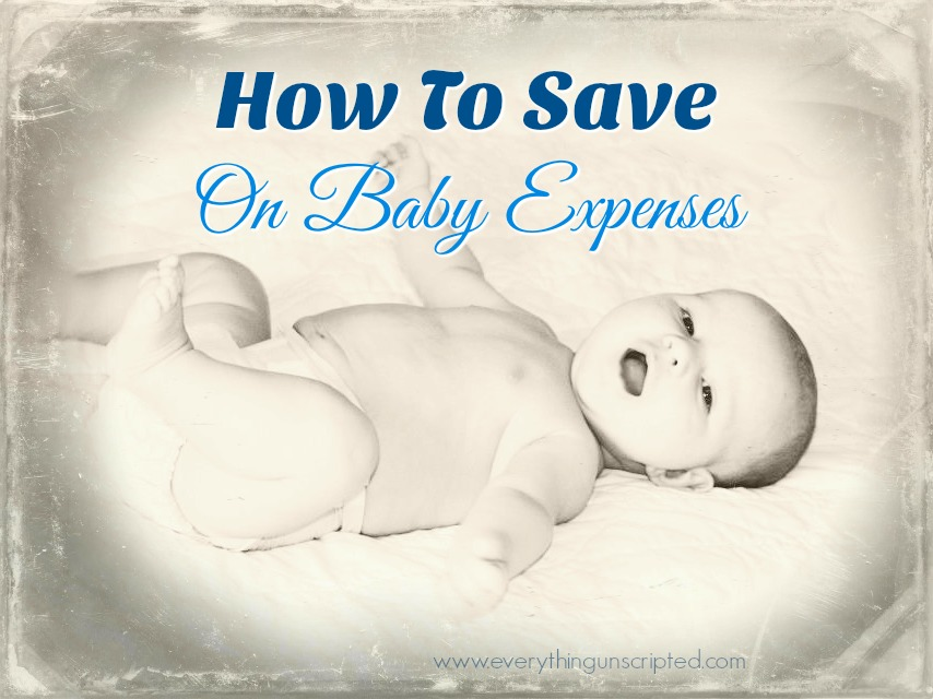 How To Save On Baby Expenses
