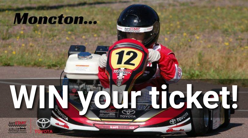 Enter To Win a kartSTART Ticket