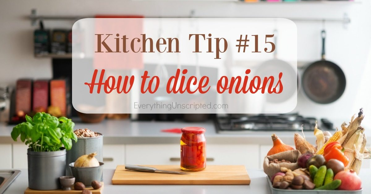 Kitchen Tip – How to Dice Onions