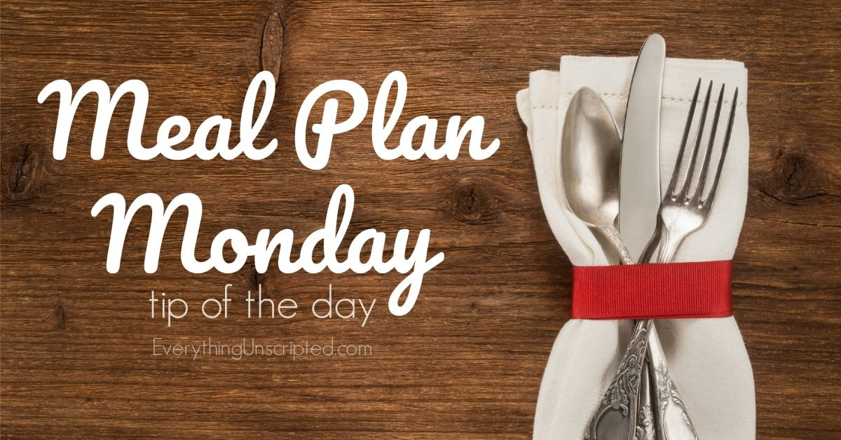 Meal Plan Monday #2 – Planning The Shop