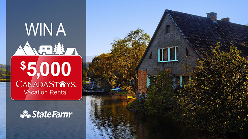 Get A Quote, Save Money & You Could Win A $5,000 Vacation Rental! #GreatCanadianGetaway