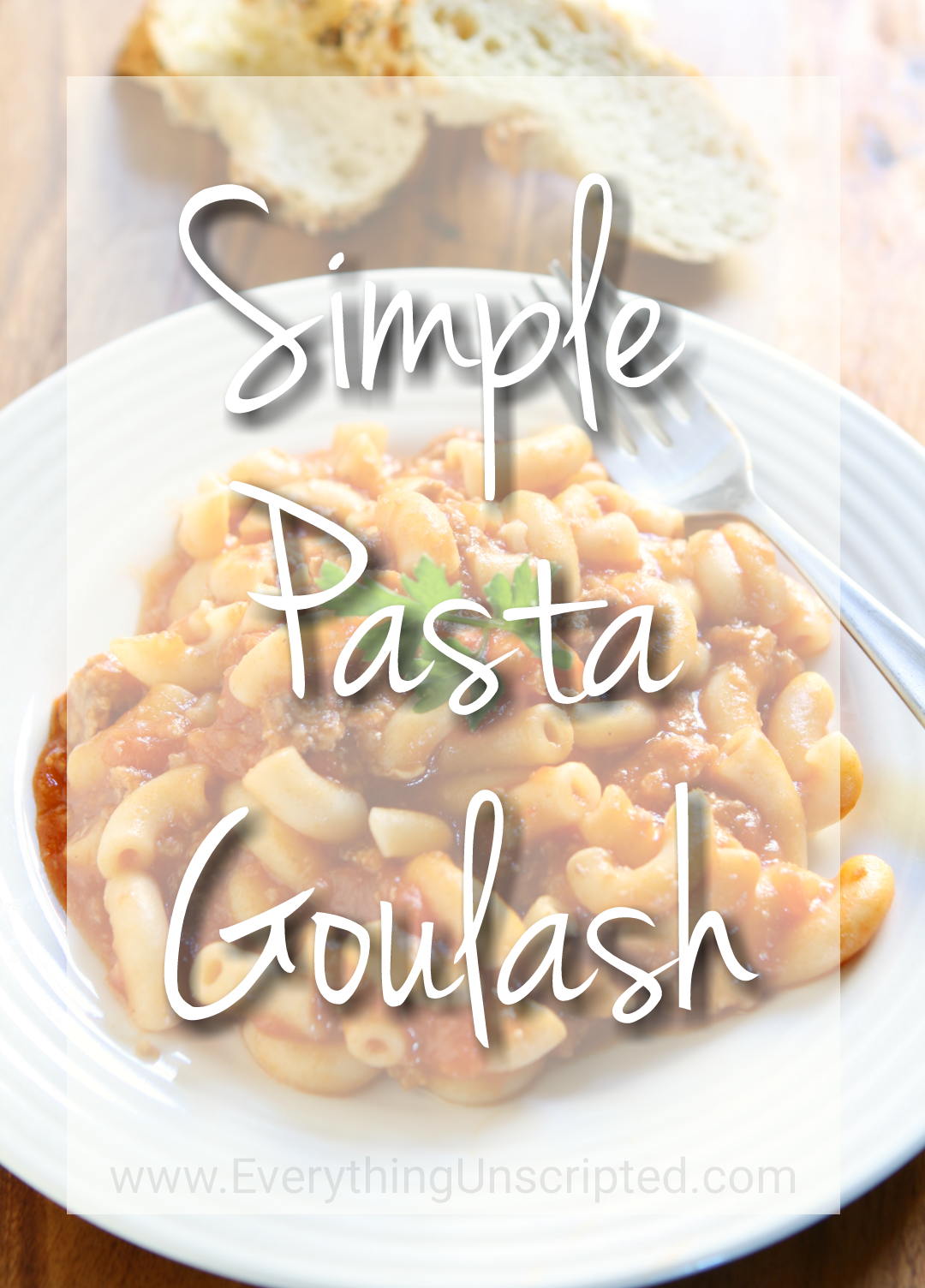 Simple Pasta Goulash