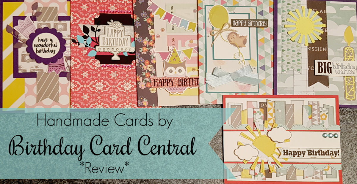 Birthday Card Central – Handmade Cards *Review*