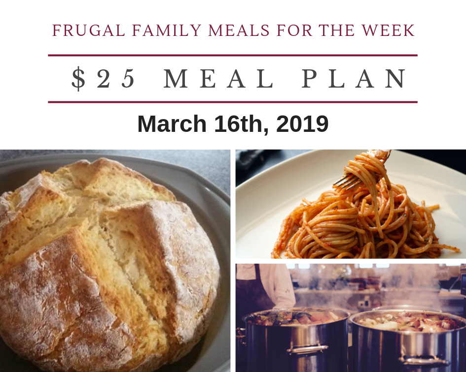 Meal Plan March 16